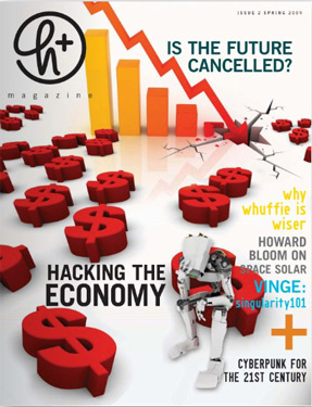 The H+ Magazine Cover for Spring 2009